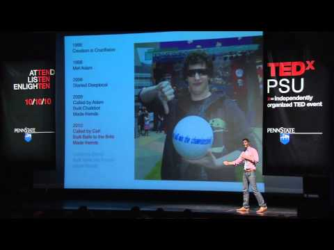 TEDxPSU - Nathan Martin - Be Nice. Make Friends.