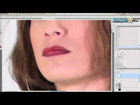 Photoshop Tutorial - Make-Up - Lipstick