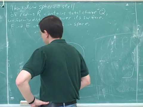 Physics: Electric field lines and Gauss's law (10)