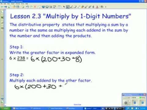 Lesson 2.3
