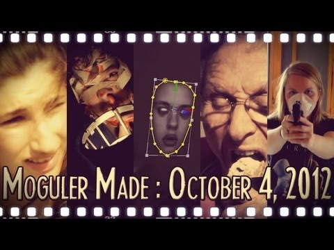 An After Effects Ghost Face, An Experimental Horror Film, and More! : Moguler Made: October 4, 2012