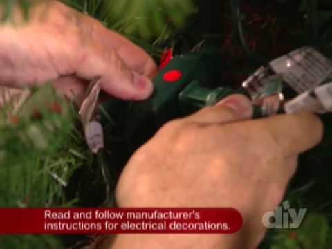 Safe Holiday Decorating-DIY