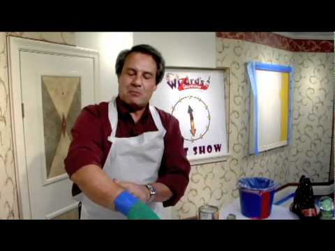 Painting and Wallpapering Secrets from Brian Santos, The Wall Wizard® -- 1