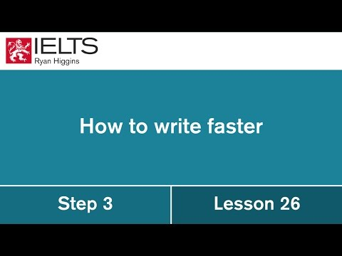 IELTS Task 2 - The secret to writing faster and higher quality argument essays