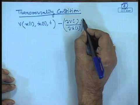 Mod-01 Lec-33 Lecture-33-Numerical Example and Solution of Optimal Control Problem