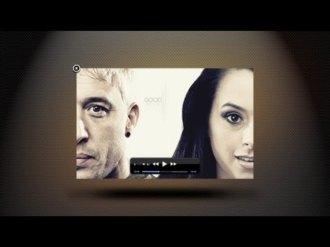 Apple Style Video Player UI -Photoshop Tutorial