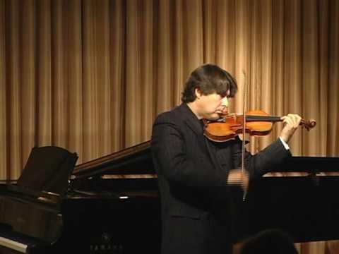 "Stradivari violin, ""The Antonius,"" played by Eric Grossman (full version)"