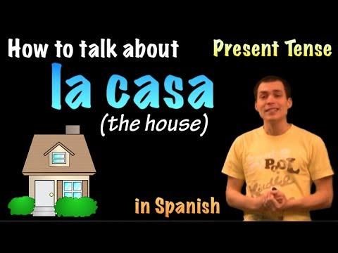 01052 Spanish Lesson - La casa (parte 1)