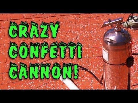 Crazy Confetti Cannon!