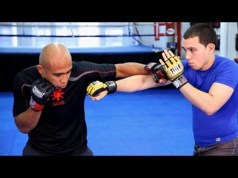 Countering the Cross   MMA Fighting Techniques