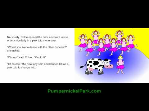 Chloe the Dancing Cow - Stories for Children Books Kids Stories Short Story Child Edu