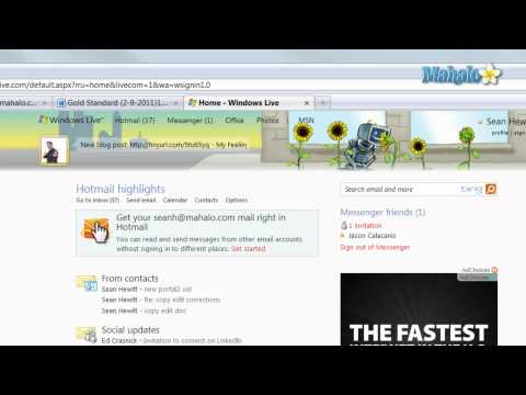 Windows Live - Hotmail Overview