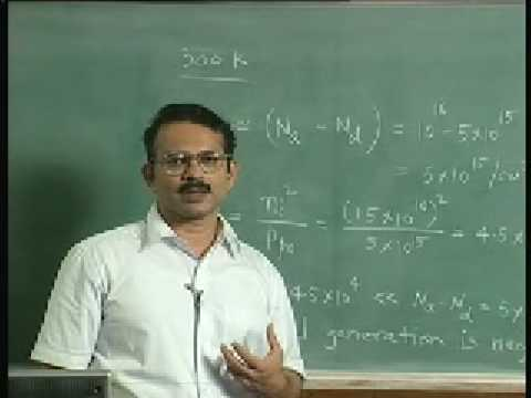 Lecture - 11 Equilibrium Carrier Concentration