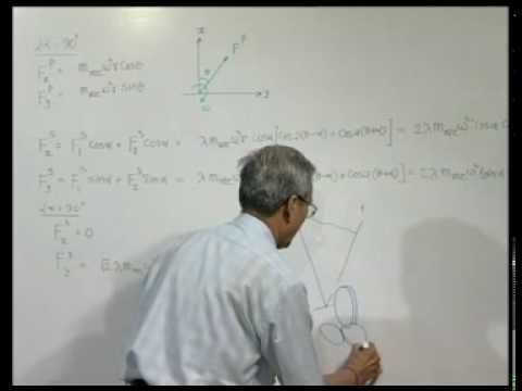 Module 5 - Lecture 1 - V & Radial Engine Balancing