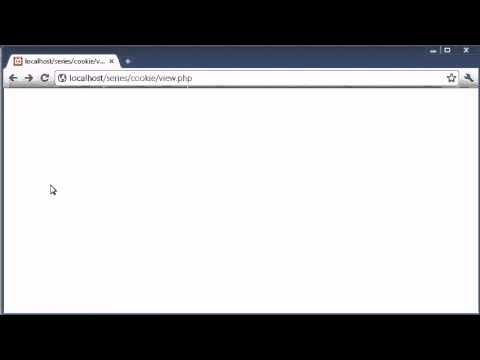 Beginner PHP Tutorial - 75 - Creating Cookies with PHP