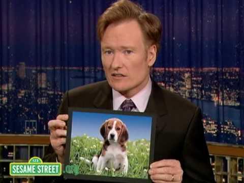 Sesame Street: Conan O'Brien Explains Dog
