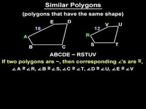 Similar Figures - Similar Polygons - YourTeacher.com