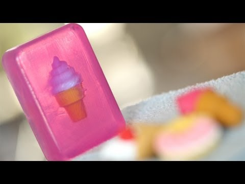 Toy Soap: How to Make    KIN DIY