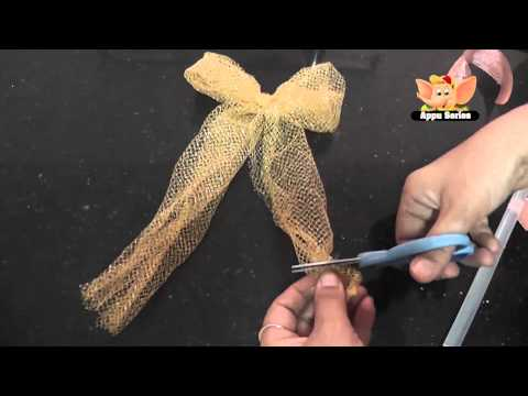 Arts & Crafts - Decorative Fabric Bow