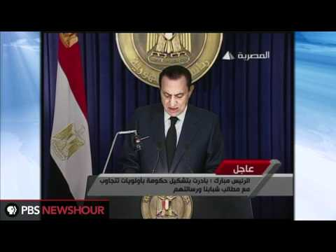 Egyptian President Mubarak Says He Will Not Seek Re-Election [Arabic]