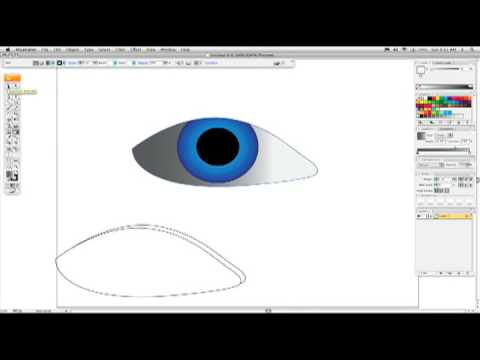 Part 1: How to draw an eye in Adobe Illustrator, with Karl Gude