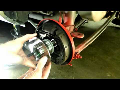 Dodge Rear Wheel Bearing Replacement
