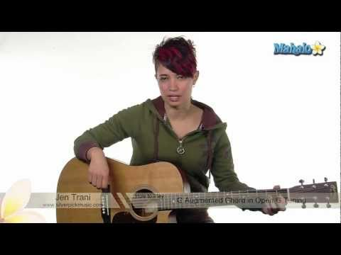 How to Play G Augmented Chord in Open G Tuning on Guitar
