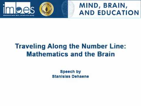 "Mind, Brain, and Education Podcasts: ""Traveling Along the Number Line: Mathematics and the Brain"""