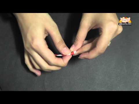 Origami - Learn to make Candy Stick