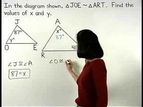 Geometry Review - YourTeacher.com - 1000+ Online Math Lessons