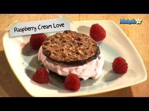 How to Make the Perfect Valentine's Day Dessert: Raspberry Cream Love