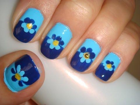 Simple Cute Nail Design For Short Nails Using China Glaze Polishes
