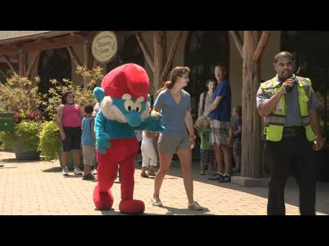 Smurf Week NYC Comes to The New York Botanical Garden