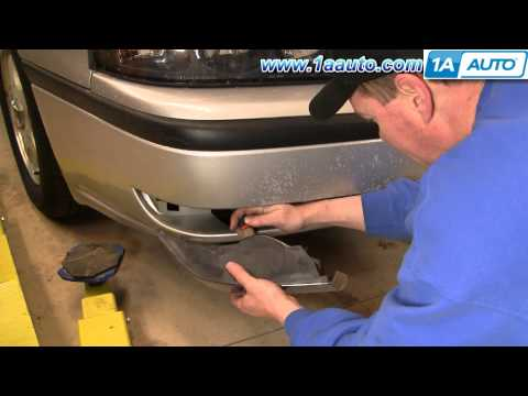 How To Install Repair Replace Fog Light Chevy Impala 00-05 1AAuto.com