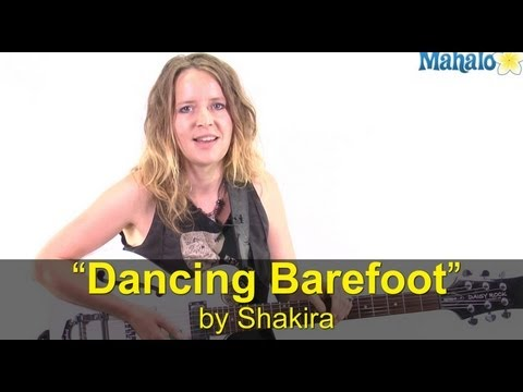 "How to Play ""Dancing Barefoot"" by Patti Smith on Guitar"