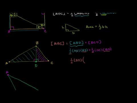 Triangle Area Proofs