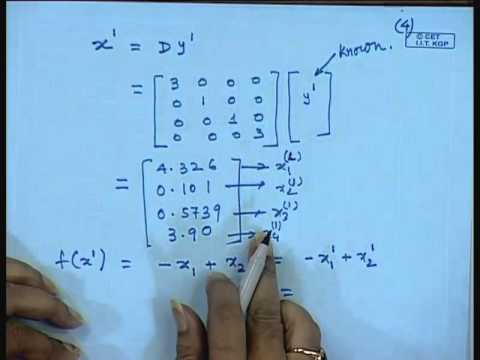 Mod-01 Lec-25 Lecture-25-Solution of Nonlinear Programming Problem