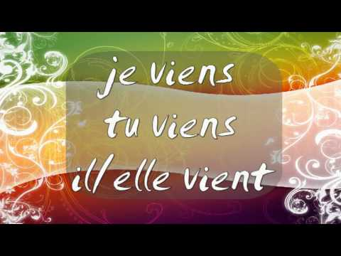 French Lesson 5 - Conjugation Second Group Verbs and Months of the Year - girls4teaching.com
