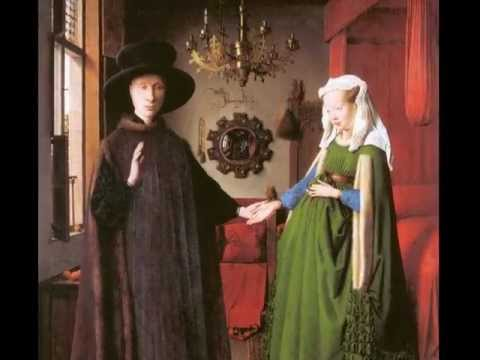 Van Eyck, Portrait of Giovanni Arnolfini and his Wife, 1434