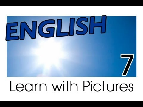 Learn English - English Weather Vocabulary