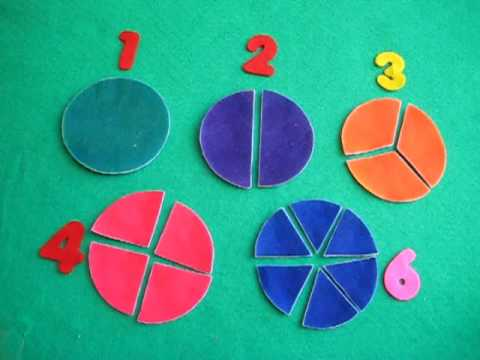 Preschool - Math. beginning fractions