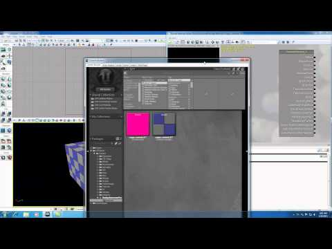 Unreal Development Kit UDK Tutorial - 23 - Textures and Materials