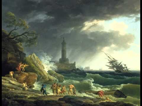 A Storm on a Mediterranean Coast, Claude-Joseph Vernet