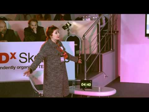 TEDxSkolkovo - Olga Romanova - Lady in red