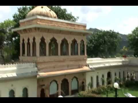 Crown Prince of Mewar gives a guided tour of Jagmandir Palace, Udaipur