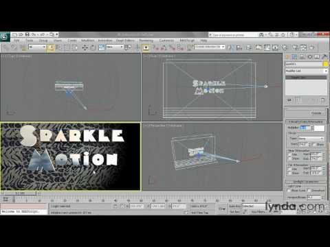3ds Max: How to soften the spotlight   lynda.com tutorial
