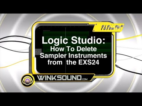 Logic Studio: How To Delete Sampler Instruments from the EXS