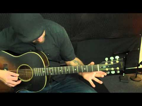 Acoustic Guitar Lesson - Picking and Strumming - G lick