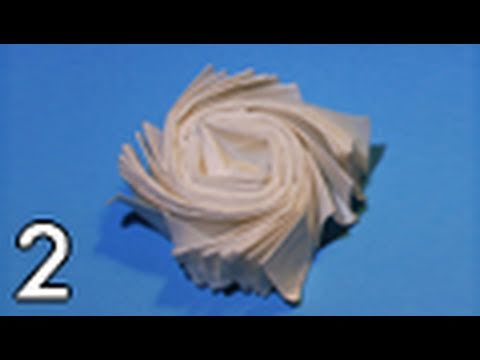 Origami Flasher by Jeremy Shafer (Folding Instructions) ~Part Two~