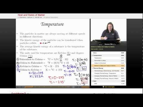 Physical Science: Temperature (Heat)